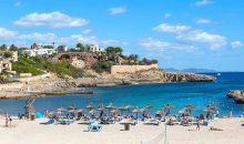 Blick auf die Bucht von Cala Murada