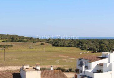 PM07300 Stadthaus Portocolom - Blick aufs Meer von der Dachterrasse