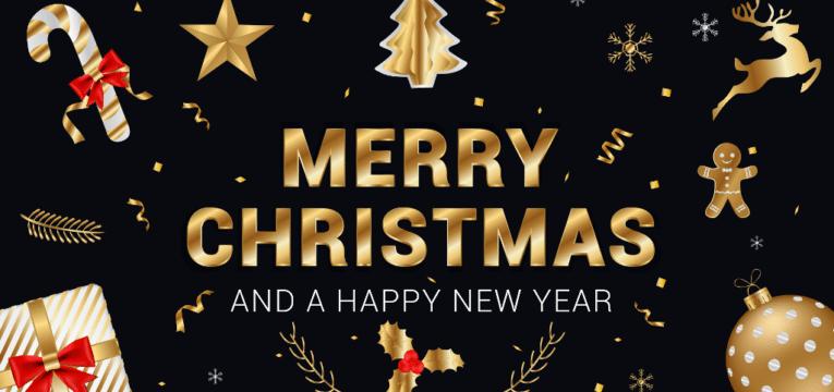 Weihnachtsgrüße und Gutes Neues Jahr
