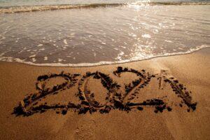 2021 am Strand
