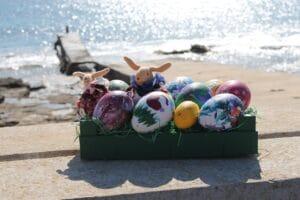 Ostern 2021 auf Mallorca mit selbst gemachten Ostereiern